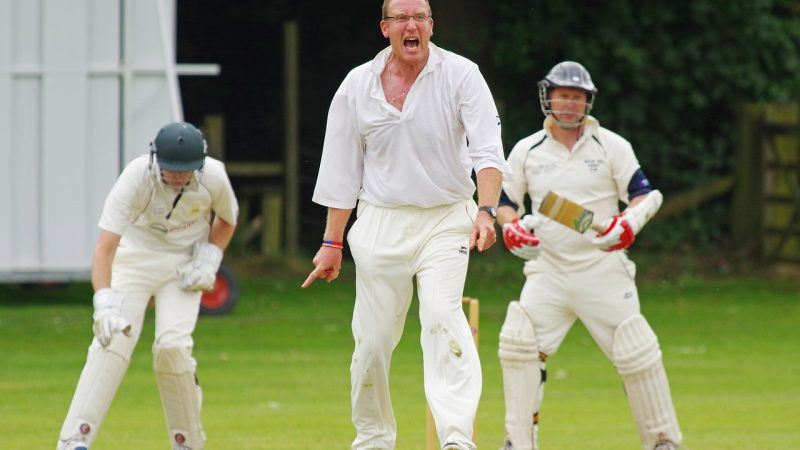 Bowler was outstanding to out last person