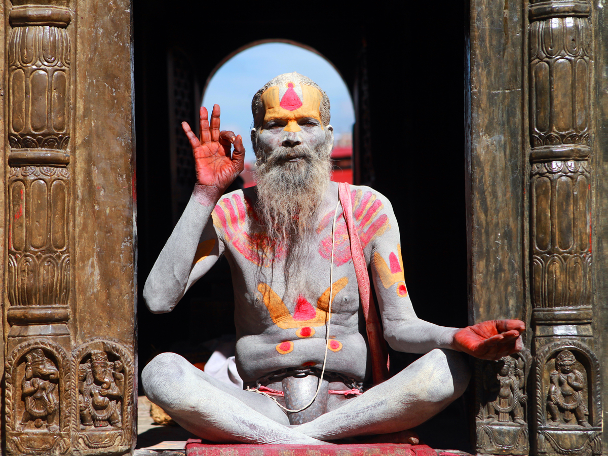 Baba's lifestyle is splendid at temple
