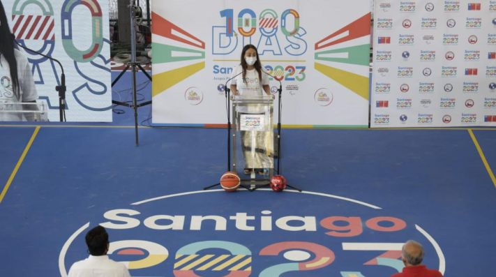 Los Juegos Panamericanos Santiago 2023 comienzan su cuenta regresiva con un gran hito en infraestructura
