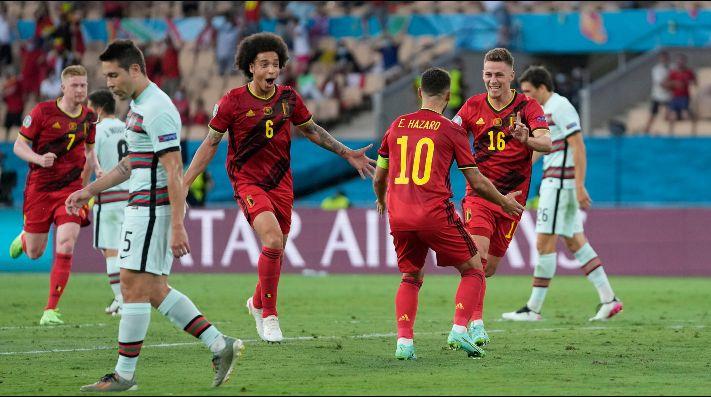 En un partidazo, Bélgica se impone ante Portugal y Cristiano se despide de la Eurocopa