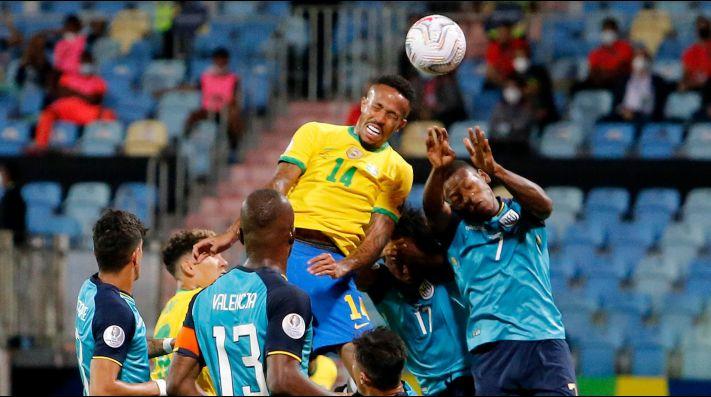 Brasil empata con Ecuador y ambos clasifican a cuartos de final de la Copa América