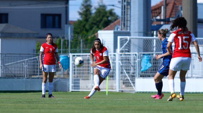 A pensar en Alemania: La Roja femenina cae ante Eslovaquia en su primer amistoso previo a los Juegos Olímpicos de Tokio 2020