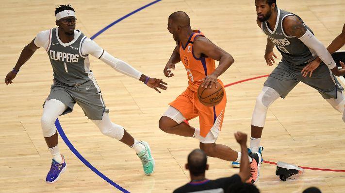 Los Phoenix Suns vencen a los Angeles Clippers y se acercan a las finales de la NBA: la serie queda 3-1