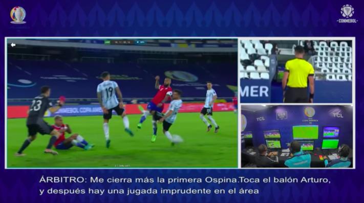 Para que no queden dudas: Conmebol libera audios del VAR en el penal contra Arturo Vidal en el Chile – Argentina