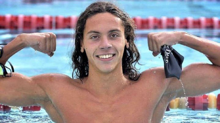 El rumano Popovici, de 16 años, asombra a la natación mundial