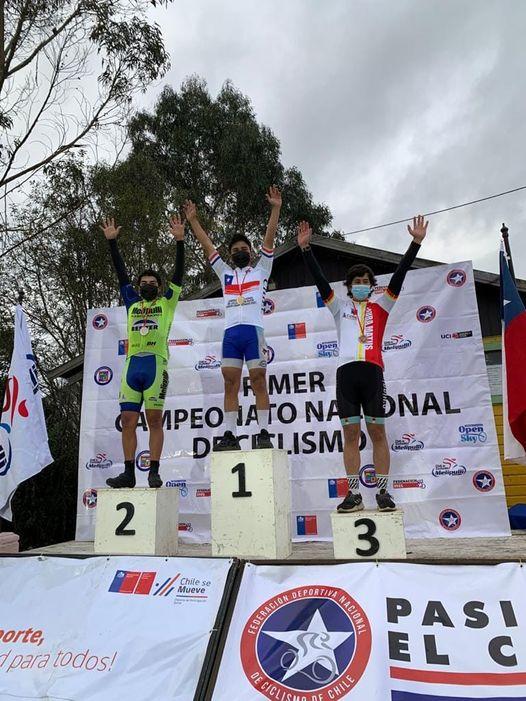 Denilzon Ahumada Riquelme se coronó campeón nacional de ciclismo en ruta