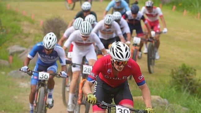 Martín Vidaurre tuvo una gran presentación en el ciclismo cross country olímpico en Tokio 2020