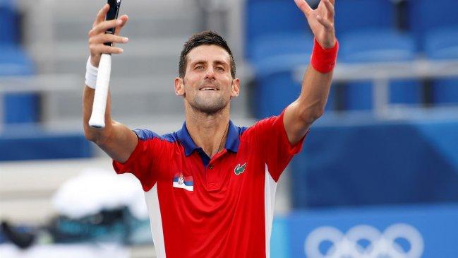Novak Djokovic enfrentará a Kei Nishikori en cuartos de final de Tokio 2020