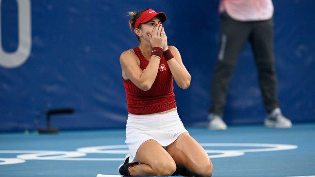 Igual que Nicolás Massú: Belinda Bencic jugará por el oro individual y de dobles en Tokio 2020