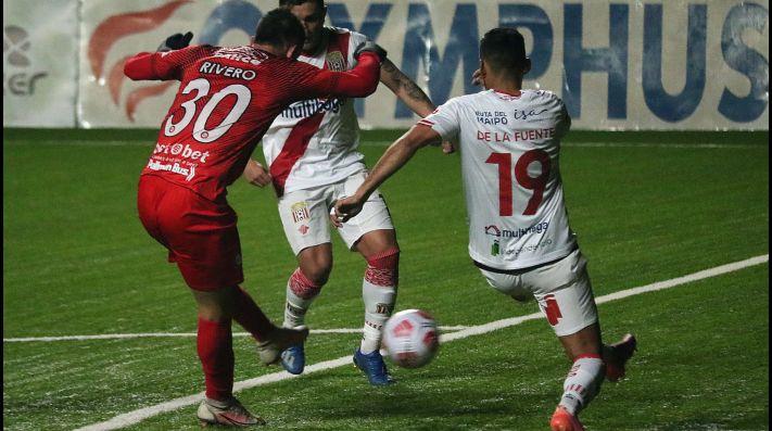 Unión La Calera derrota a Curicó Unido y sube al primer lugar de la tabla en el Campeonato Nacional