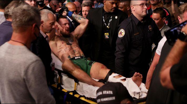 Conor McGregor rompe el silencio tras su terrible lesión en el UFC ante Dustin Poirier