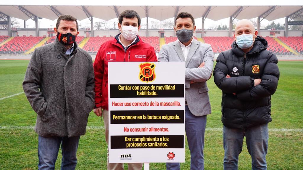 Delegado Presidencial Autoriza al Estadio Fiscal para Retorno al Fútbol Acentuando Seguridad de Hinchas y Deportistas