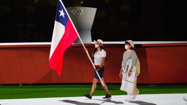 Se bajó el telón a los Juegos Olímpicos de Tokio con maulinos vistiendo los colores patrios