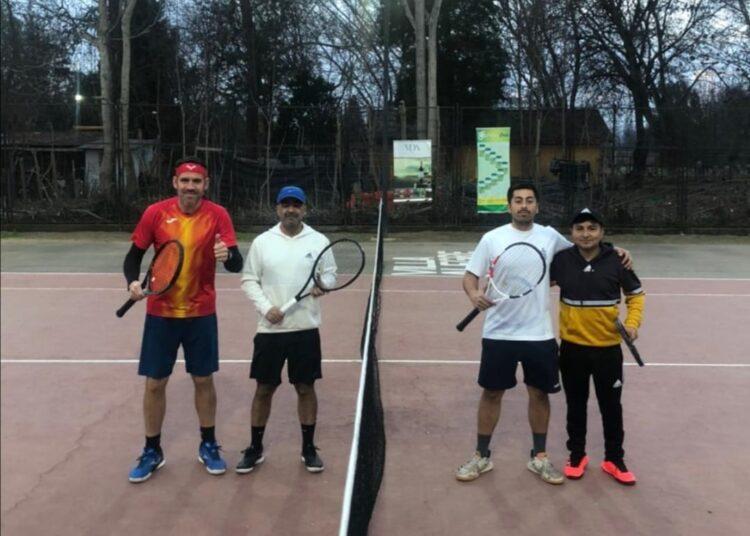 Torneo de dobles tendrá en actividad a los tenistas de Villa Alegre