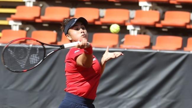 Bárbara Gatica logró otro importante ascenso y alcanzó su mejor ranking WTA
