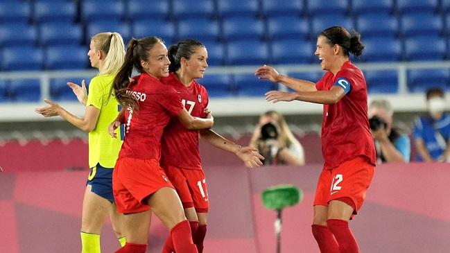 Canadá superó a Suecia en infartante definición a penales y ganó el oro en el fútbol femenino de Tokio