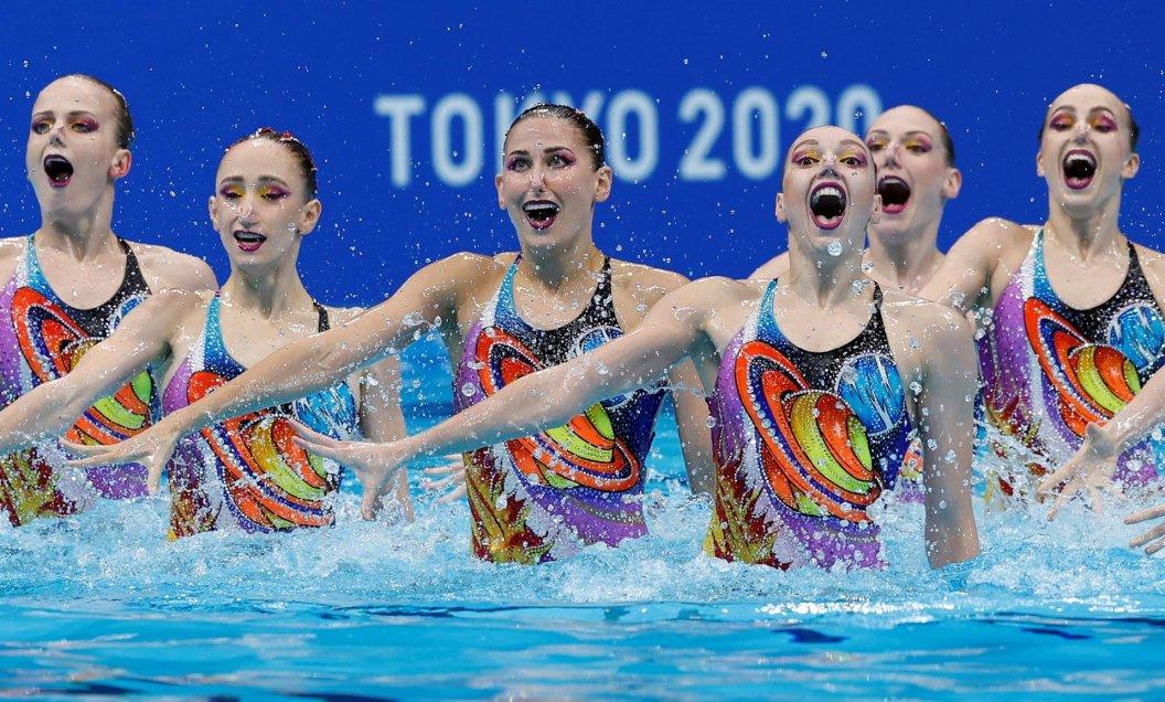 Rusia se adjudicó una vez más el oro en la natación artística en Juegos Olímpicos.
