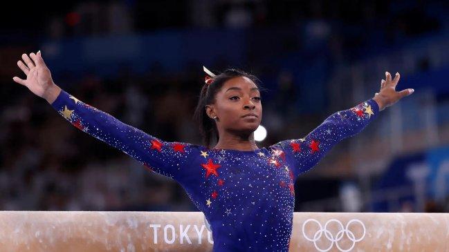 Simone Biles participará en la final de la barra de equilibrios en los Juegos Olímpicos Tokio 2020