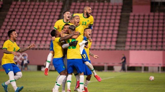 Brasil venció a México en los penales y defenderá el título olímpico en la final de Tokio 2020