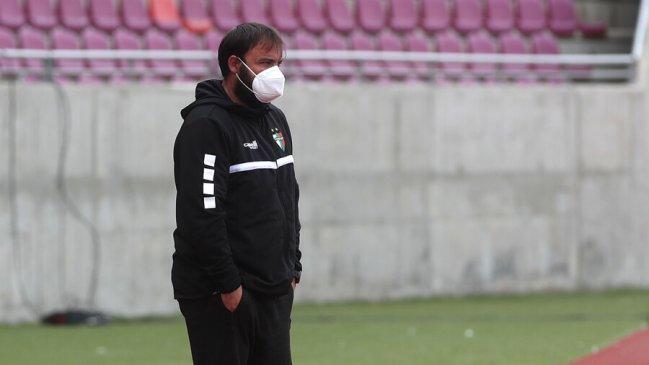 José Luis Sierra renunció al cargo de entrenador de Palestino