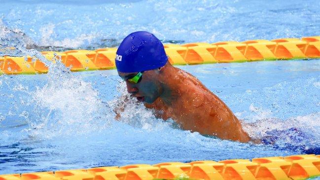 Vicente Almonacid remató octavo en la final de los 100 metros pecho de los Paralímpicos