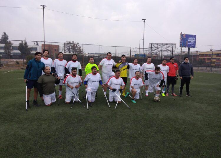Selección chilena de fútbol amputado tendrá visita ilustre en Talca