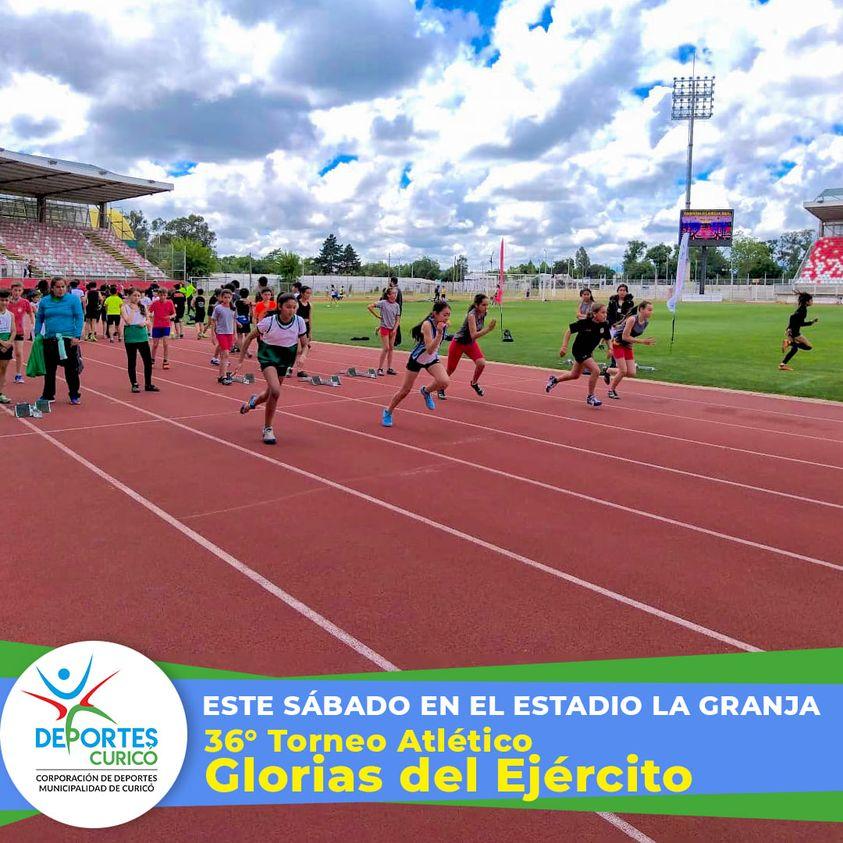 Tradición Atlética este fin de semana en La Granja de Curicó