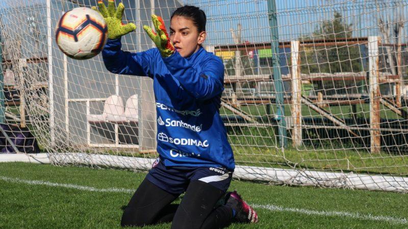 Natalia Campos y su titularidad: «Muy contenta, muy enfocada en aprovechar cada oportunidad que se me da»