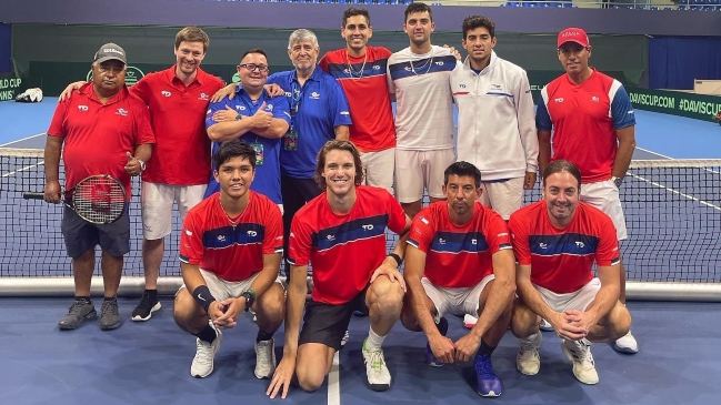 Nicolás Massú ya palpita la Copa Davis: Vamos Chile