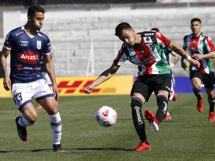 Bryan Carrasco fue figura en victoria de Palestino sobre Melipilla en el Campeonato Nacional