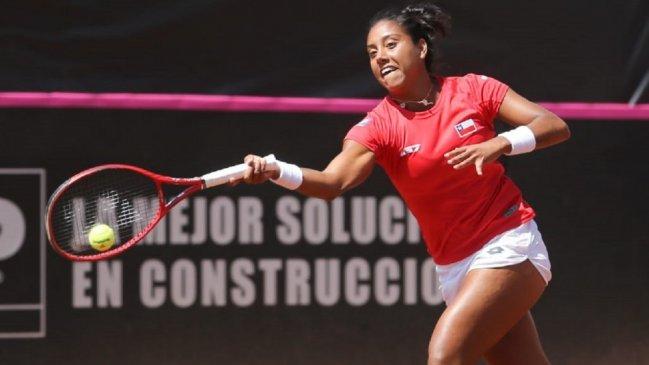 Daniela Seguel recuperó terreno en la WTA