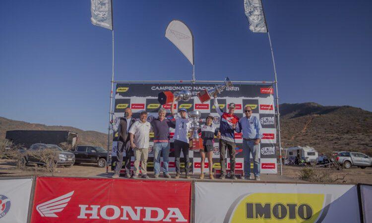 ¡Tania González se proclamó campeona nacional del torneo de Moto Enduro FIM!