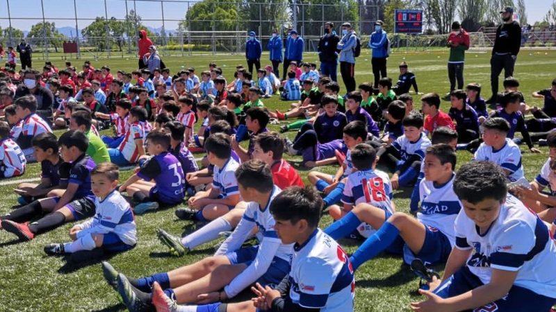 Curicó celebró su aniversario 278 con evento futbolero