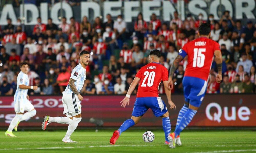 Paraguay logra un trabajado empate ante Argentina y se reparten los puntos