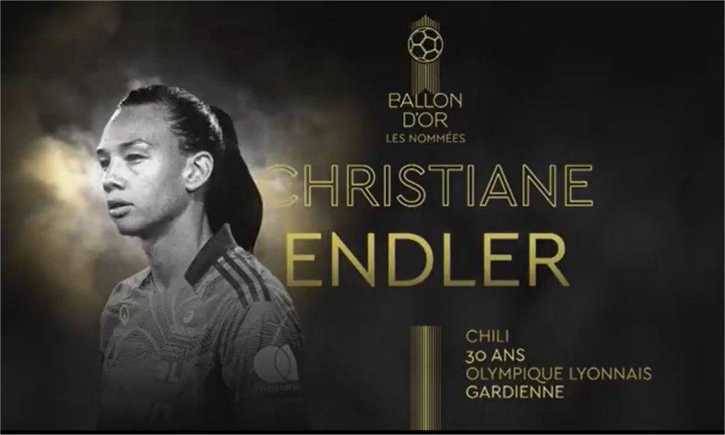 ¡Endler es nominada al balón de oro!