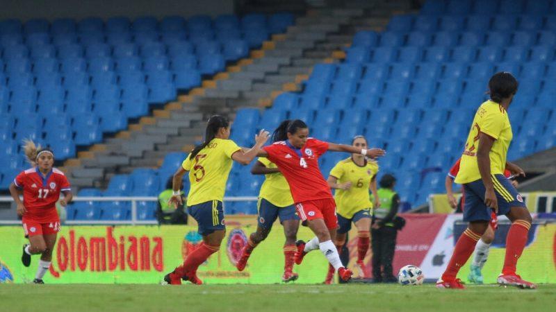 Chile fue doblegado por Colombia en calidad de visita