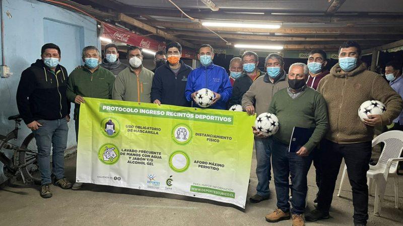 Nueva liga de fútbol rural incorpora equipos de Sarmiento, Isla de Marchat y Tutuquén