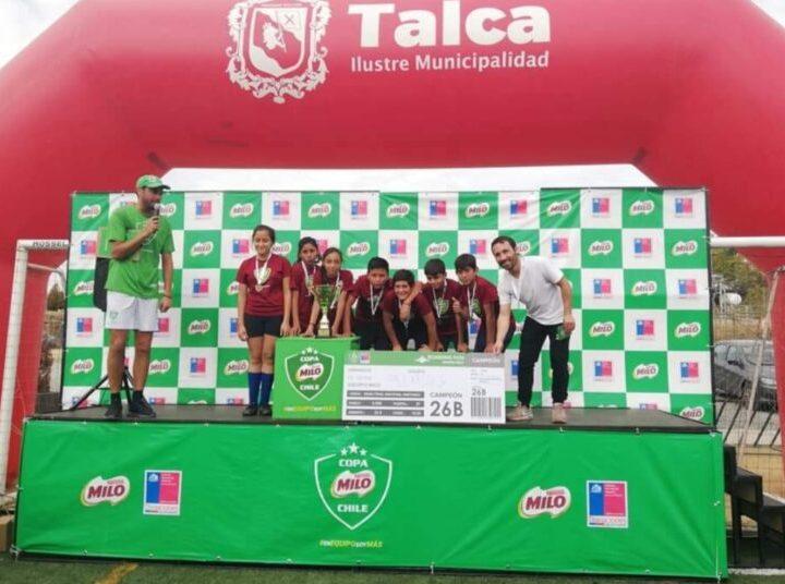 Copa Milo reunirá a niñas y niños en una competencia de futbolito
