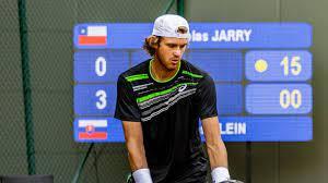 Nicolás Jarry avanzó en el cuadro de dobles del Challenger de Santiago