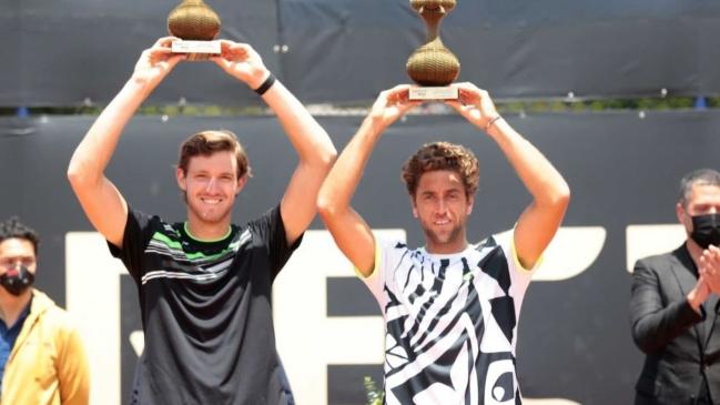 Nicolás Jarry se coronó campeón del dobles en el Challenger de Bogotá