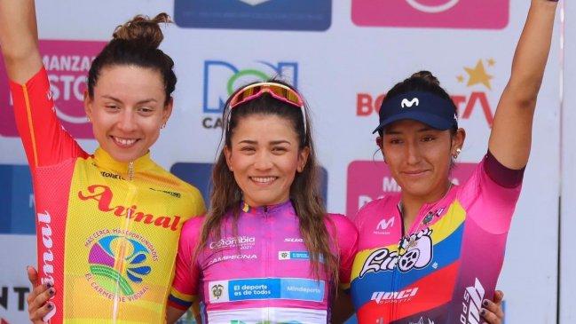 Ciclismo: Aranza Villalón terminó en el segundo lugar de la Vuelta a Colombia
