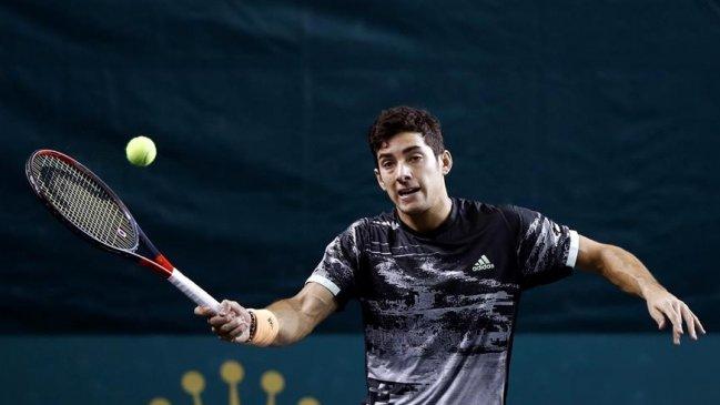 Cristian Garin fue derrotado en su estreno en el ATP 250 de Amberes